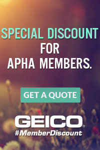 Special Discount for APHA Members GEICO