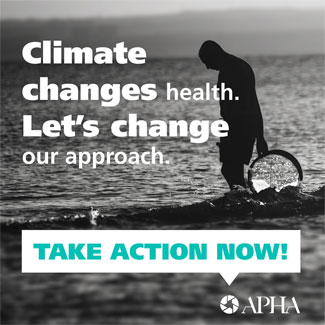 Climate changes health let's change our approach