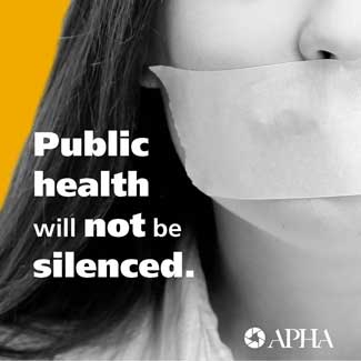 Public health will not be silenced