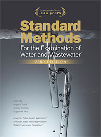 Standard Methods for the Examination of Water and Wastewater