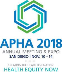 APHA 2018 Annual Meeting & Expo San Diego Nov. 10-14 Health Equity Now