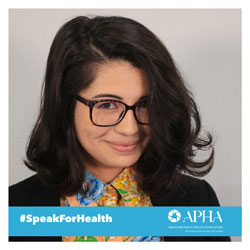 smiling woman #SpeakForHealth