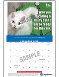 thumbnail of APHA Get Ready Calendar page featuring cat photo