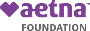 logo, Aetna Foundation, purple heart